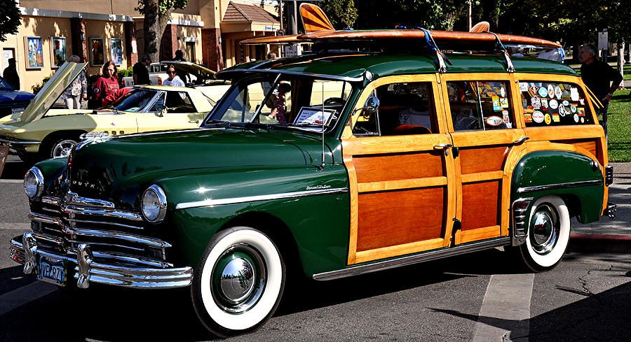 1950 Plymouth Deluxe Station Wagon