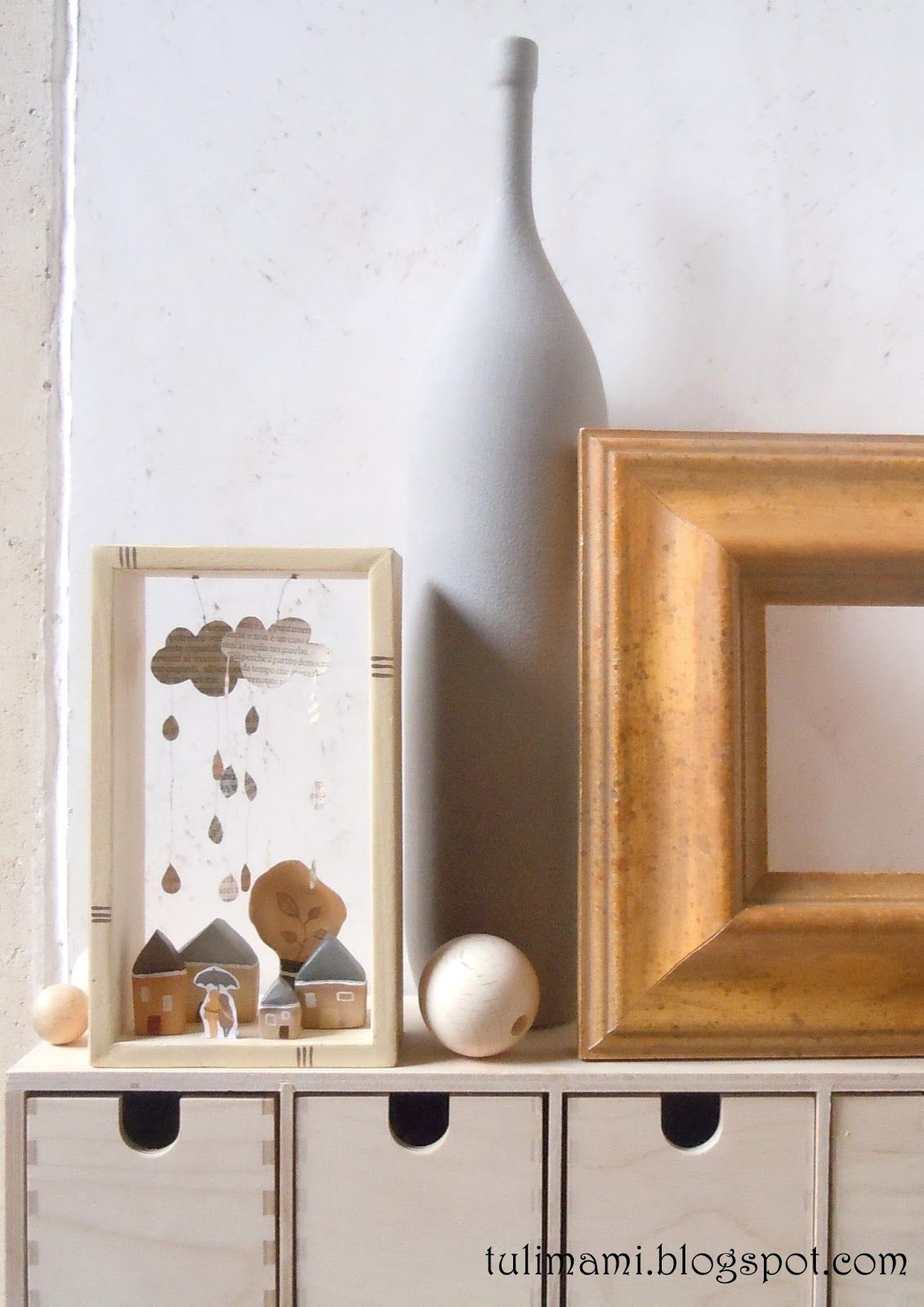 Tulimami Shadow Box Houses Pinterest Shadow Box Box And Craft