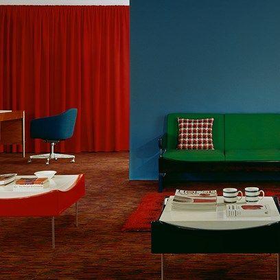 Block colours, 1967   1960s, House and Mid century on 1960 landscape design, 1960 furniture design, 1960 living room design, 1960 lighting design, 1960 mid century interior design, 1960 kitchen design, 1960 bathroom design,