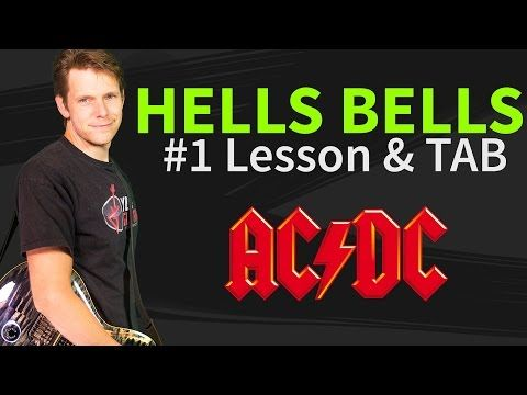 How To Play Hells Bells Guitar Lesson & TAB by ACDC - YouTube