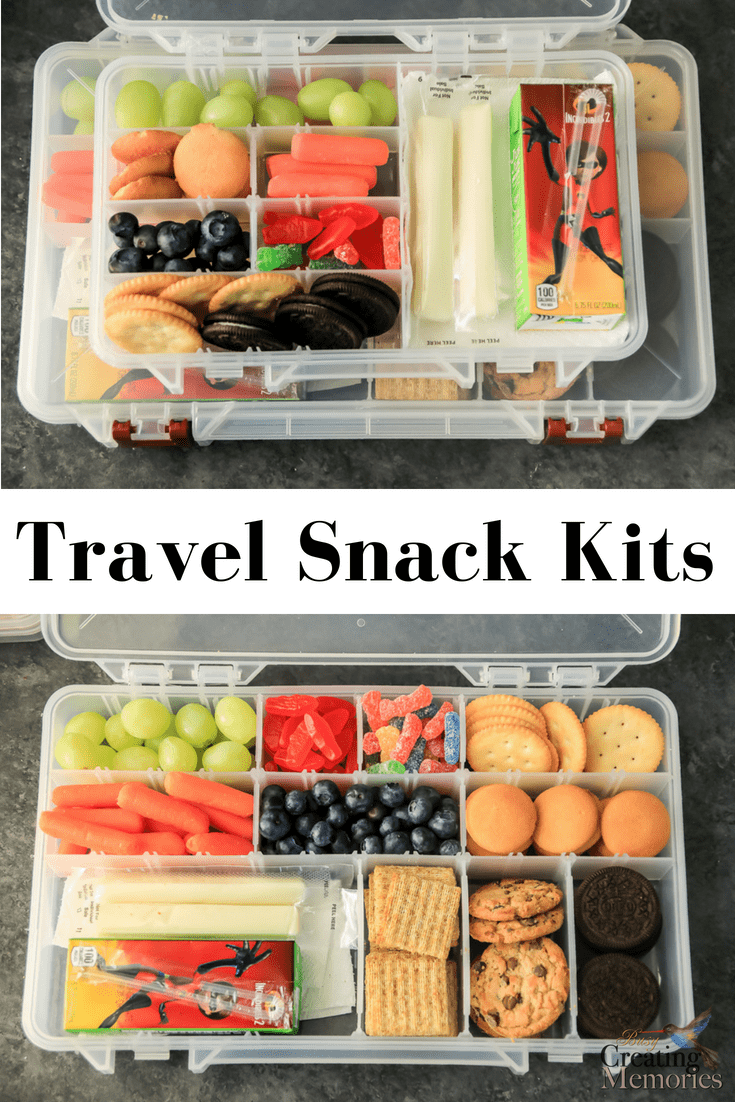 Make traveling easier! Try these easy DIY road trip snack