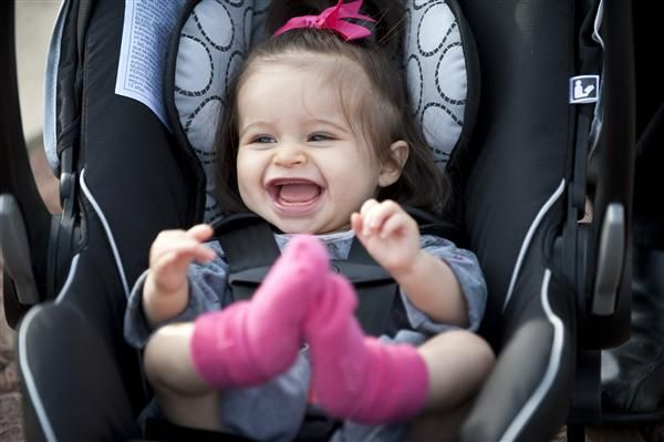 The Britax B Safe Infant Car Seat Features A Removable Comfort