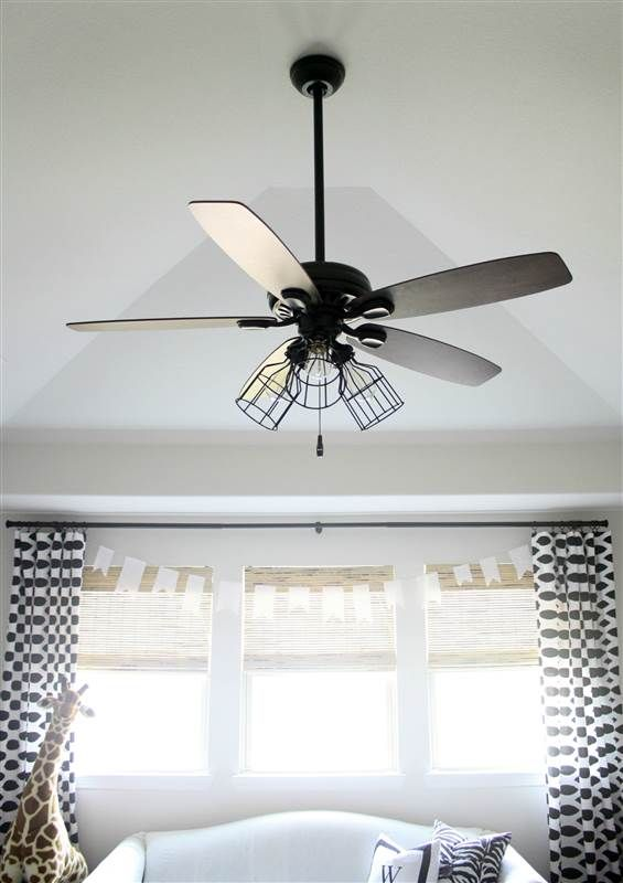Give Your Ceiling Fan A Makeover With This Diy Ceiling Fan Light Cover Ceiling Fan Makeover Ceiling Lights Living Room