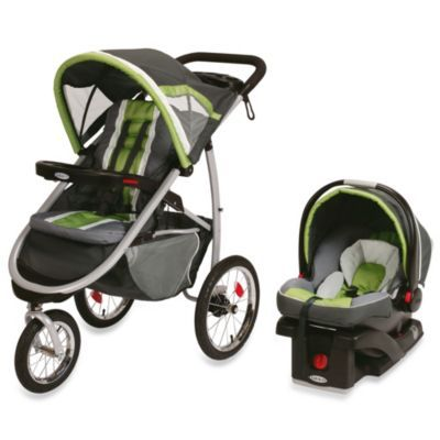 GracoR FastActionTM Fold Jogger Click ConnectTM Travel System In Piazza