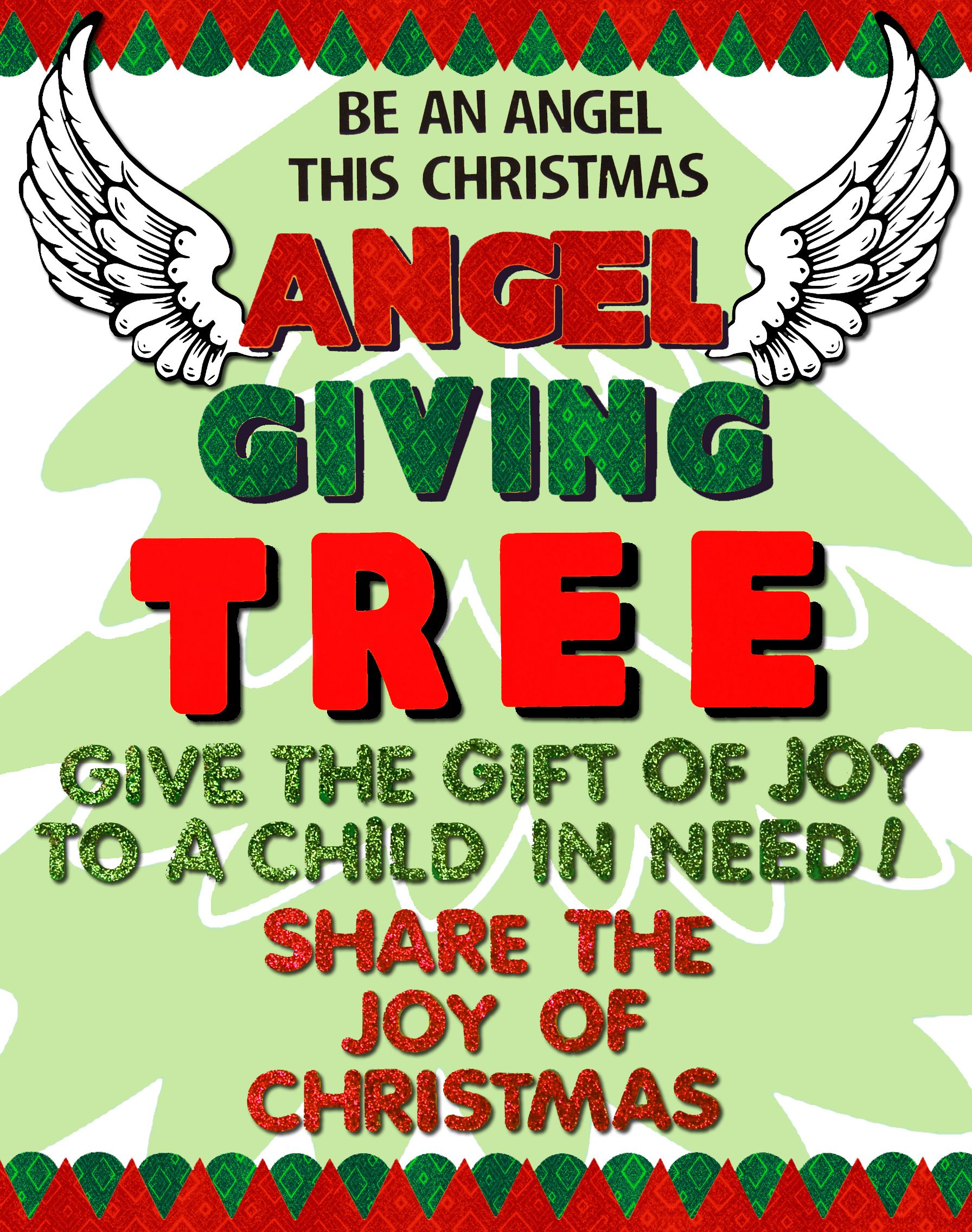 The Giving Tree Fundraising Poster