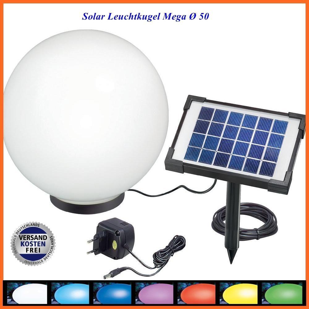Solarleuchtkugel Mega 50 cm für im Innen und Außenbereich 106040