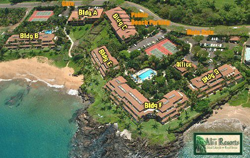 Makena Surf Condos Maui Vacation Surfing Resort
