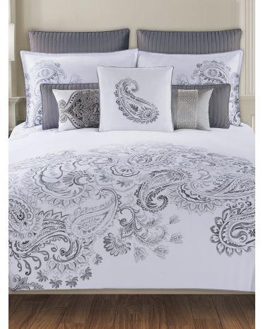 Dragon Paisley Bedding Collection T J Maxx Paisley Bedding Tahari Bedding Comforter Sets