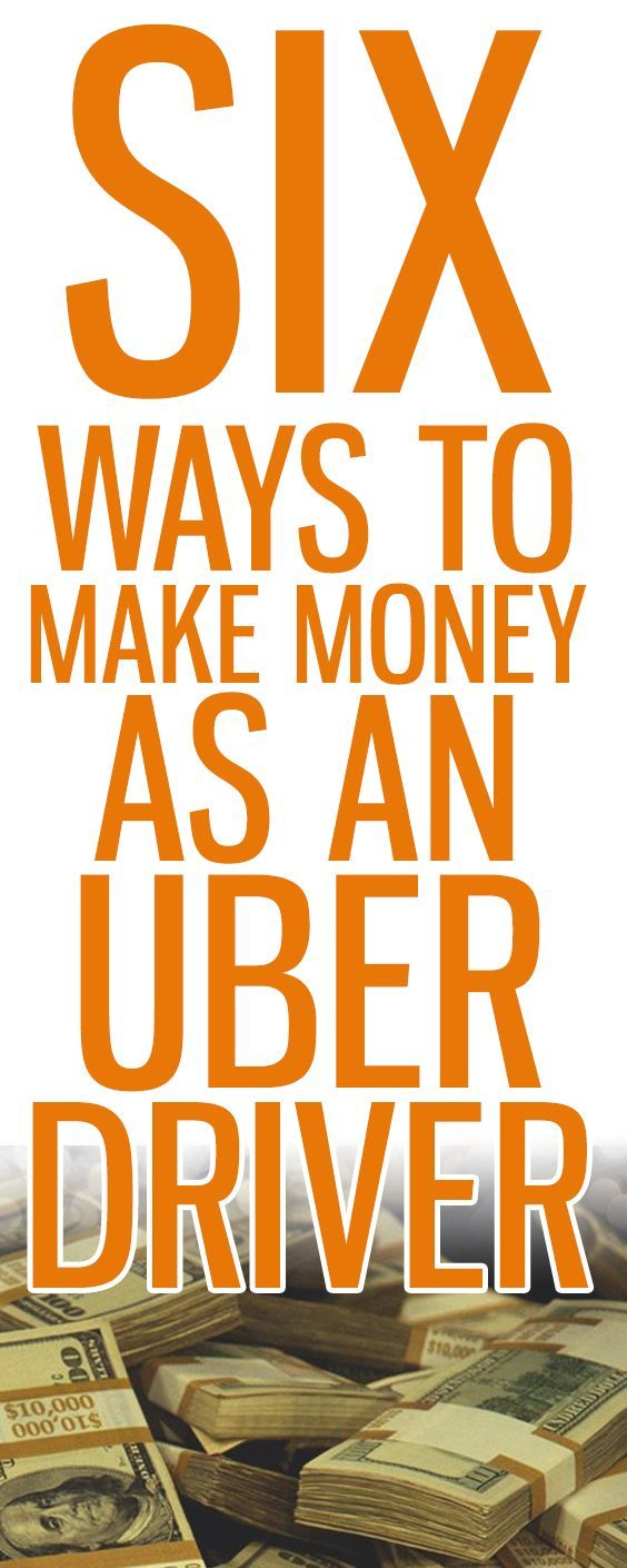 6 Ways To Get Paid As An Uber Driver Uber driver, Uber