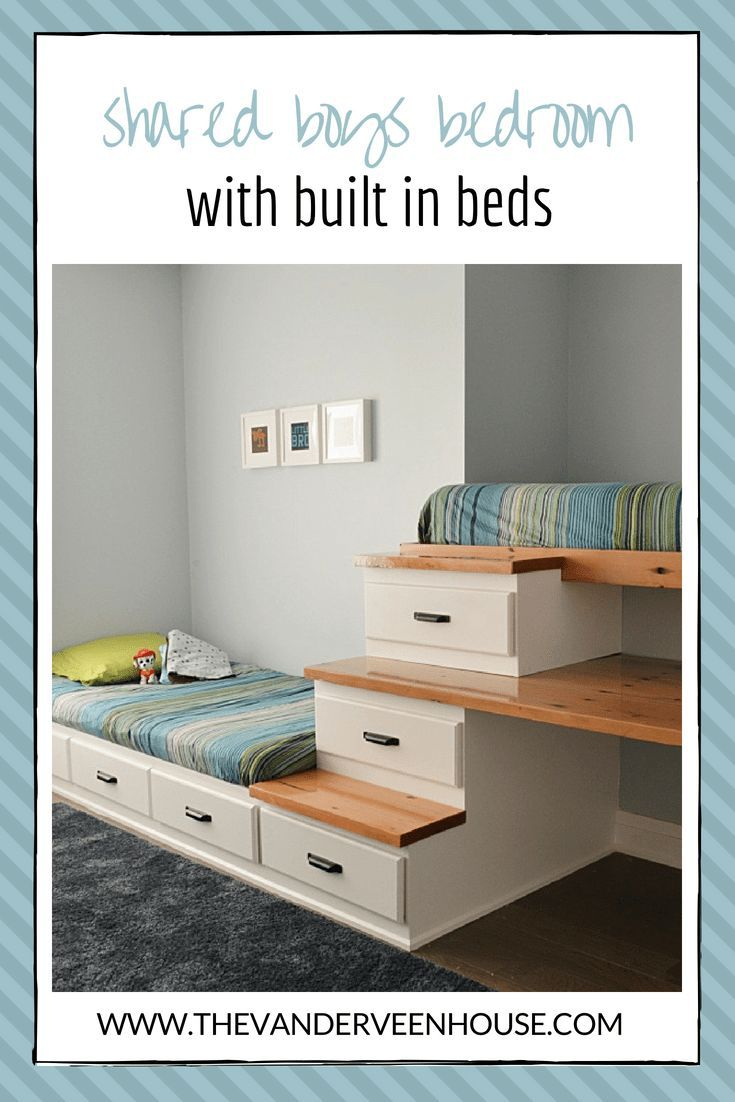 Photo of How to make a built in bed with storage • The Vanderveen House