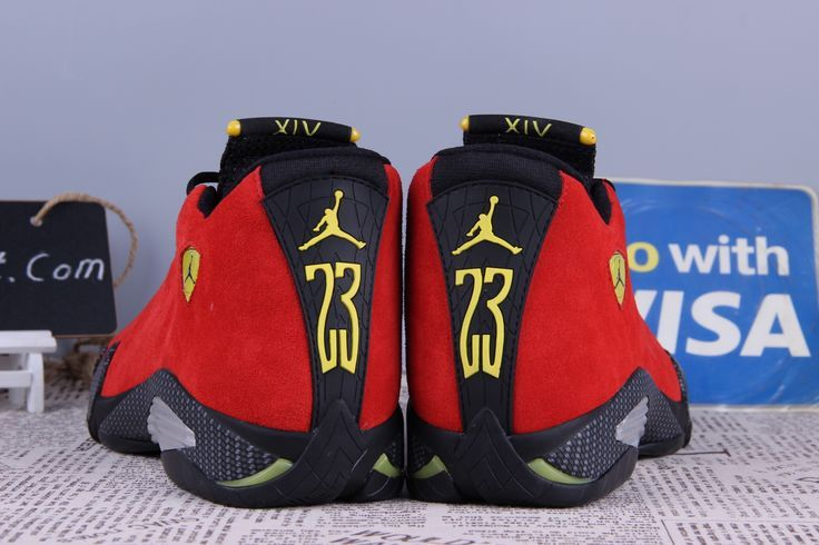 reputable site 4d65f a50c4 Air Jordan 14 Retro Ferrari