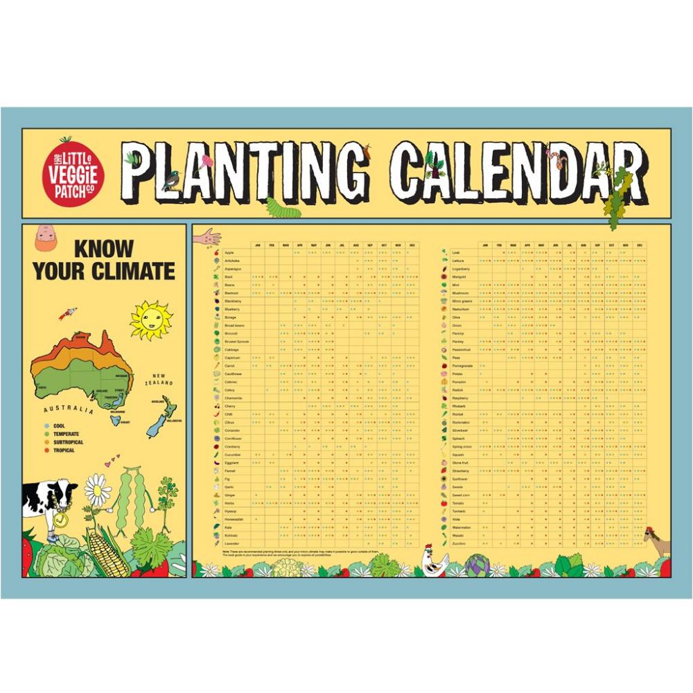 Planting Calendar (With images)   Planting calendar ...