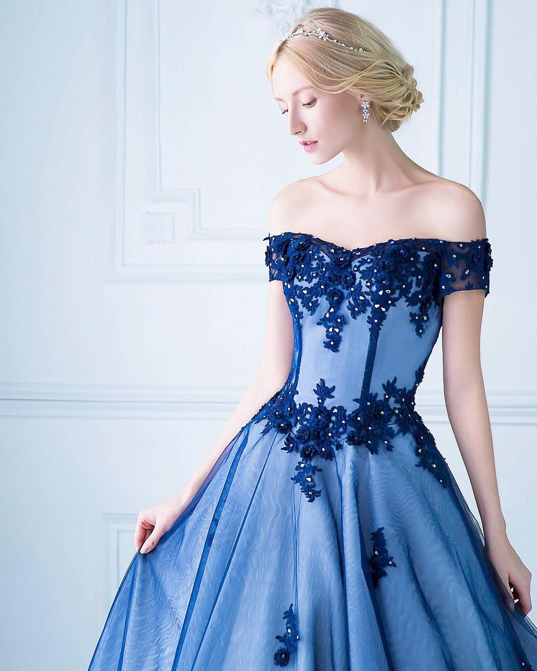 Midnight blue vestidos pinterest midnight blue haute