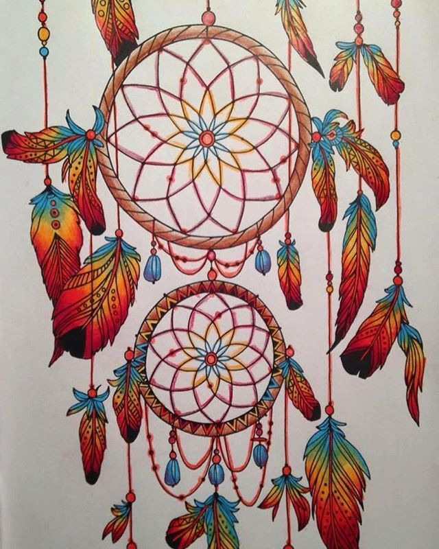 Completed Coloring Page From Posh Book Soothing Designs For Fun And Relaxation