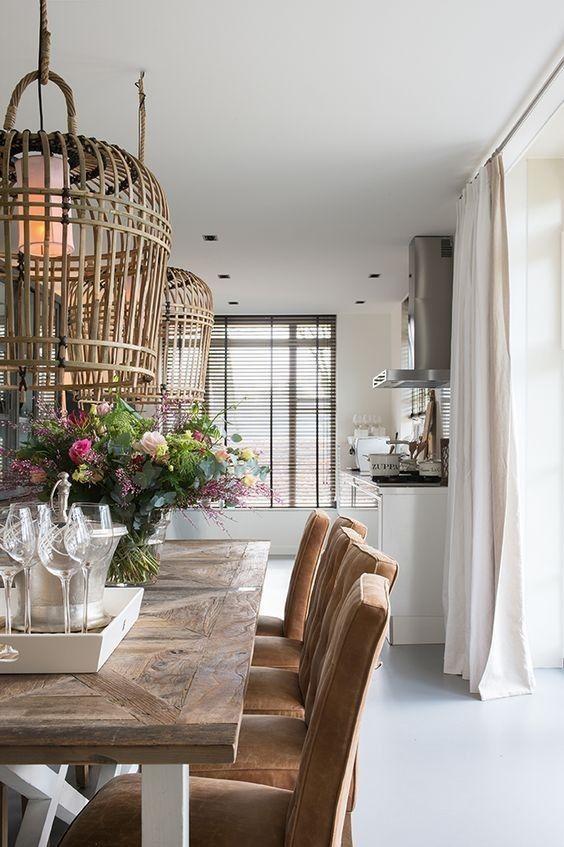 riviera maison san carlos hanging lamp xxl bambus meleka. Black Bedroom Furniture Sets. Home Design Ideas
