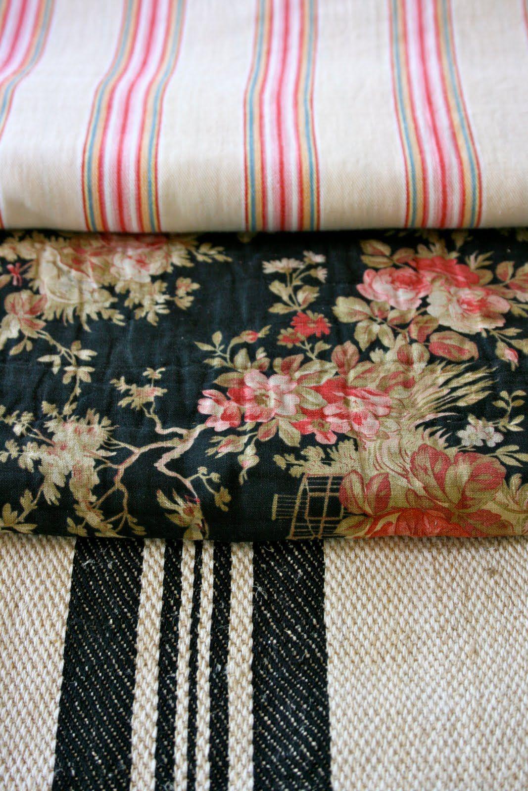 vintage textiles ~