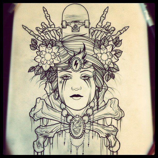 #tattoo #sketch