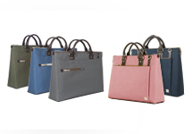 Urbana is a commuter-friendly laptop briefcase with a removable shoulder strap, available in three stylish colors. Free shipping from Moshi.