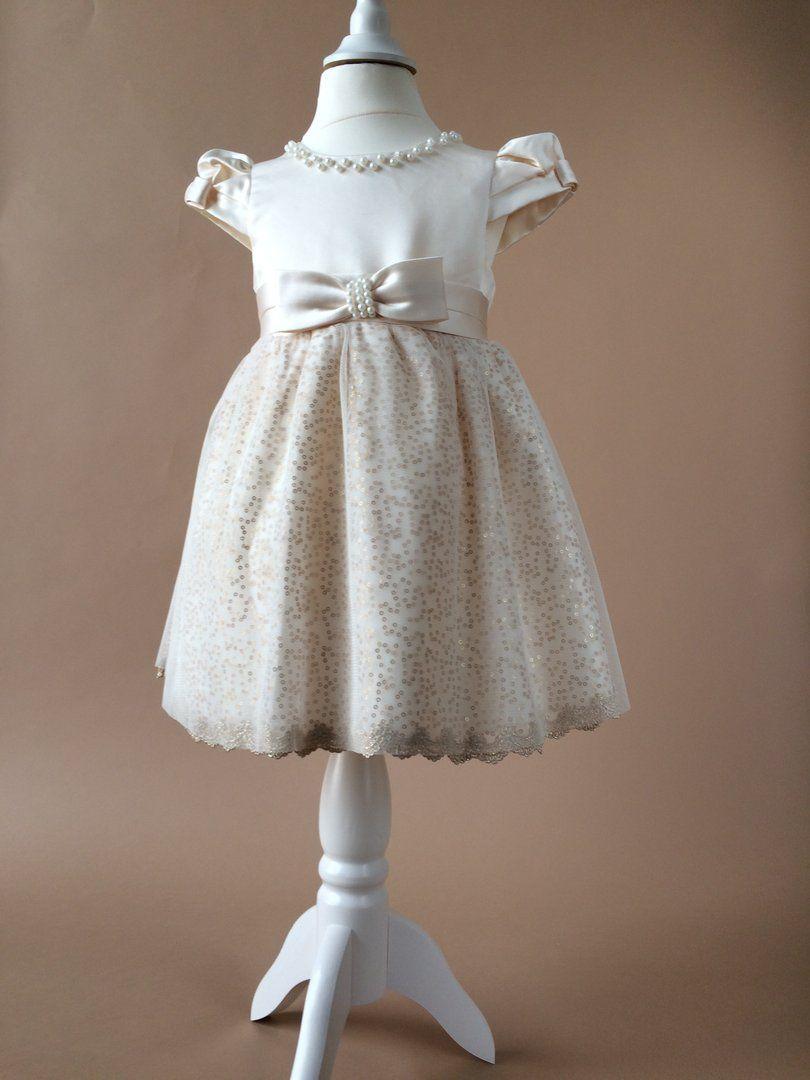 Festkleid Taufkleid Hochzeitskleid Blumenmädchen Kleid ...