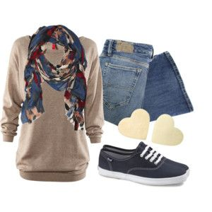 Polyvore gotta get some tennies like that