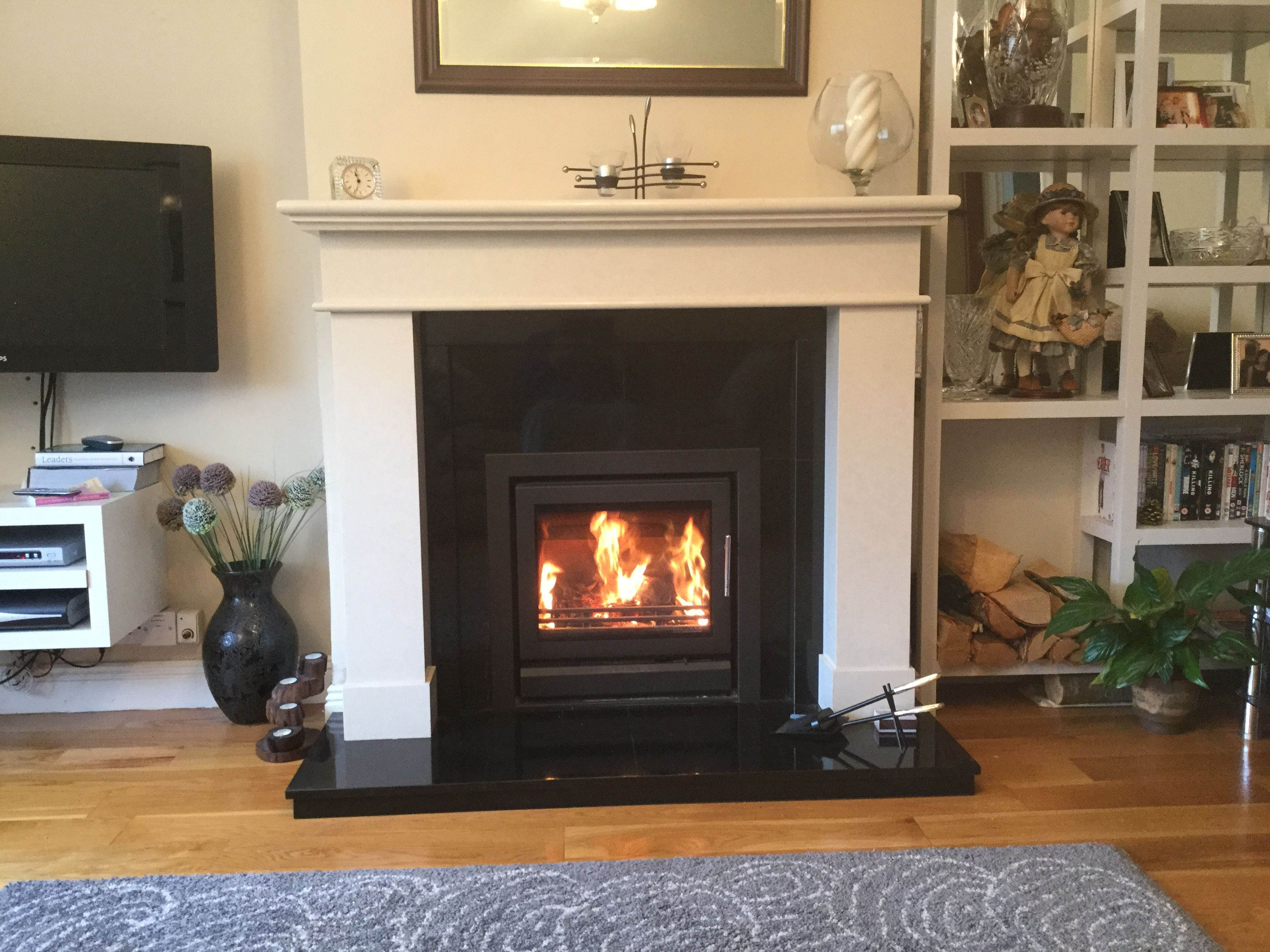 Stovax Riva 50 with Renoir fireplace complete fitting ...