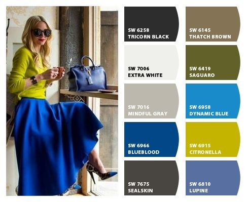 Grays And Browns And Blues That Can Coordinate Fashion Pinterest