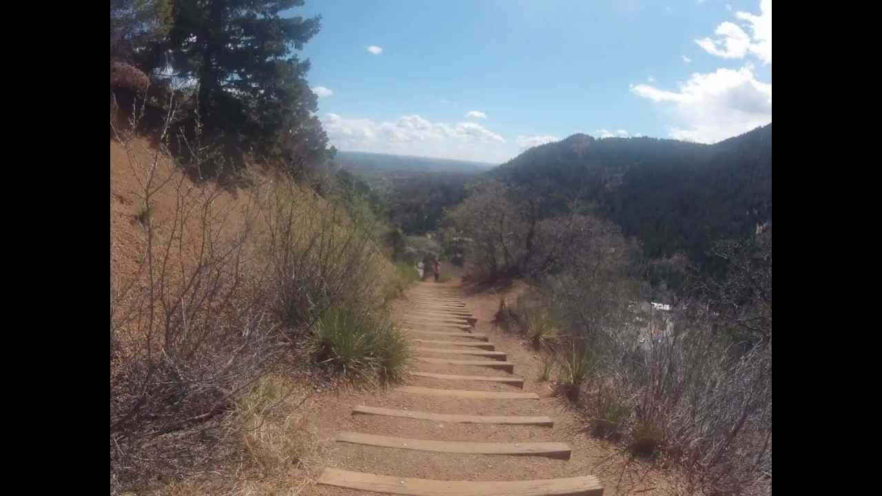 The Incline in 3 minutes Manitou Springs Colorado Springs #manitousprings
