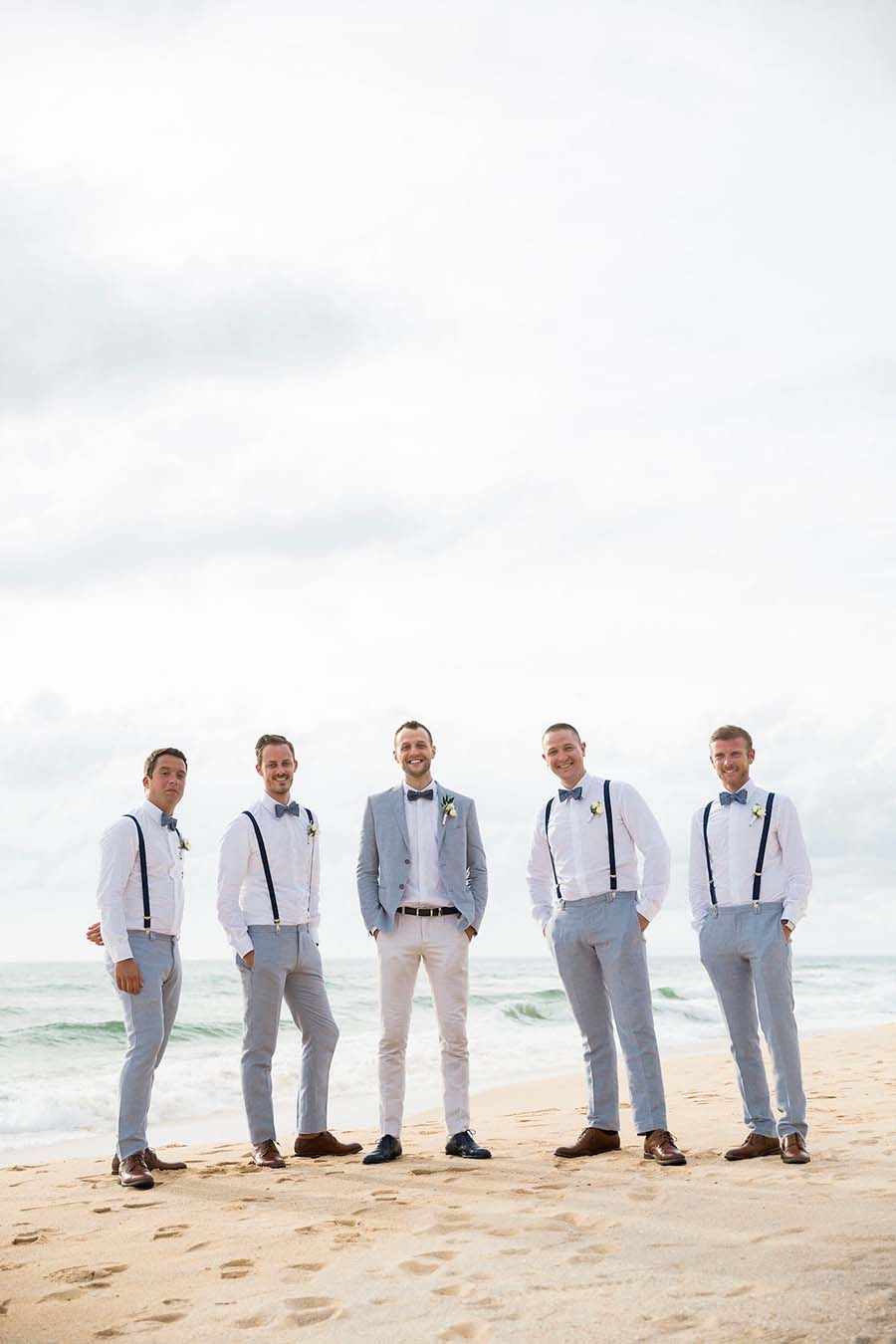 Francois And Karis Phuket Wedding Filled With White And Blue