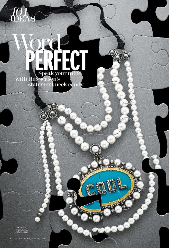 Lanvin Cool pearl puzzle editorial