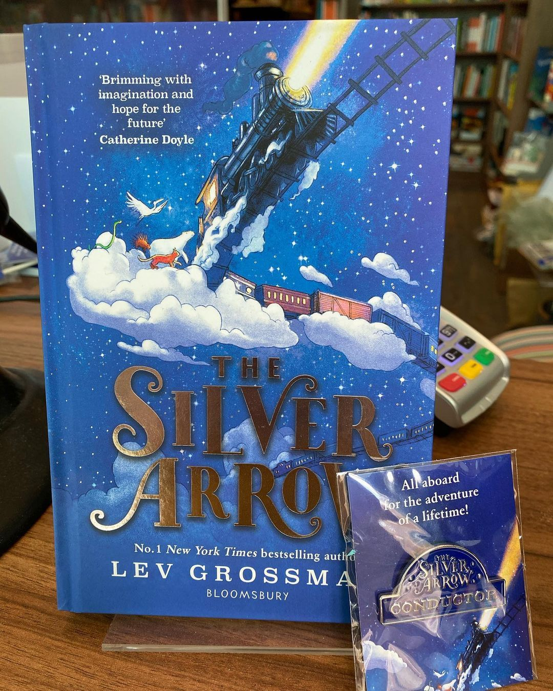 """Books On The Hill on Instagram: """"On National Read a Book day how about this great children's adventure story from best selling author Lev Grossman? We have special editions…"""""""