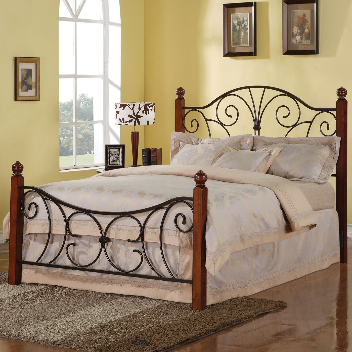 Best Coaster Fine Furniture 300255Q Queen Bed Headboard And 400 x 300