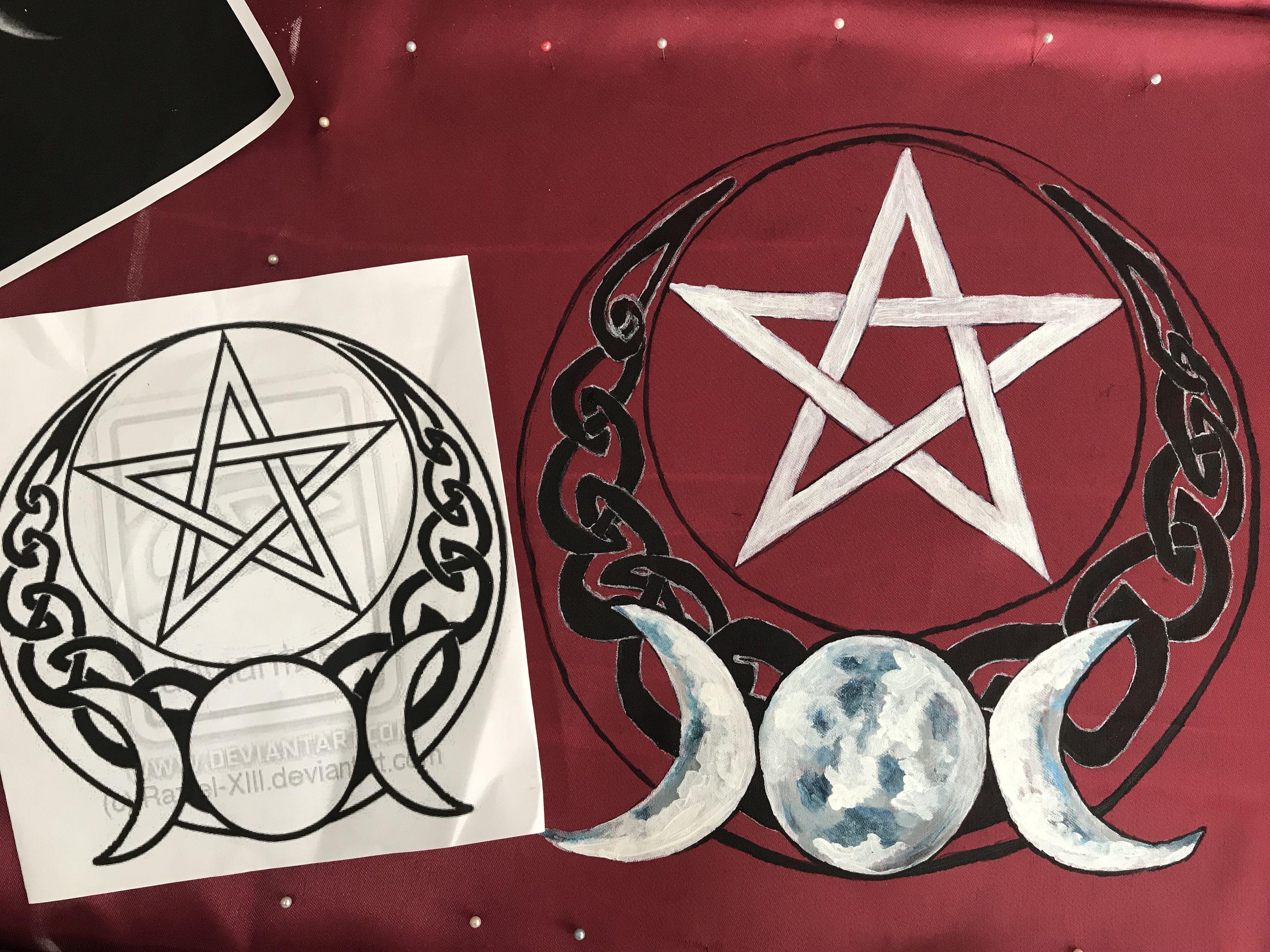 Pentagrama e Fases da Lua 16c111c9cc631