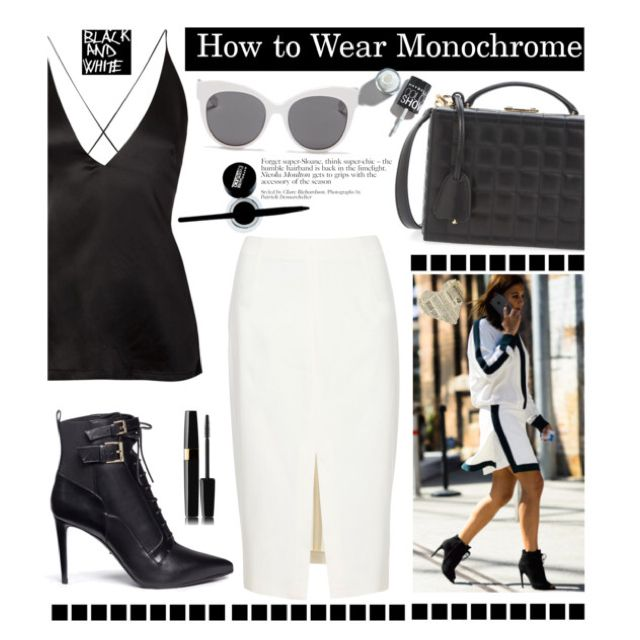 How to Wear Monochrome: Black&White by hamaly