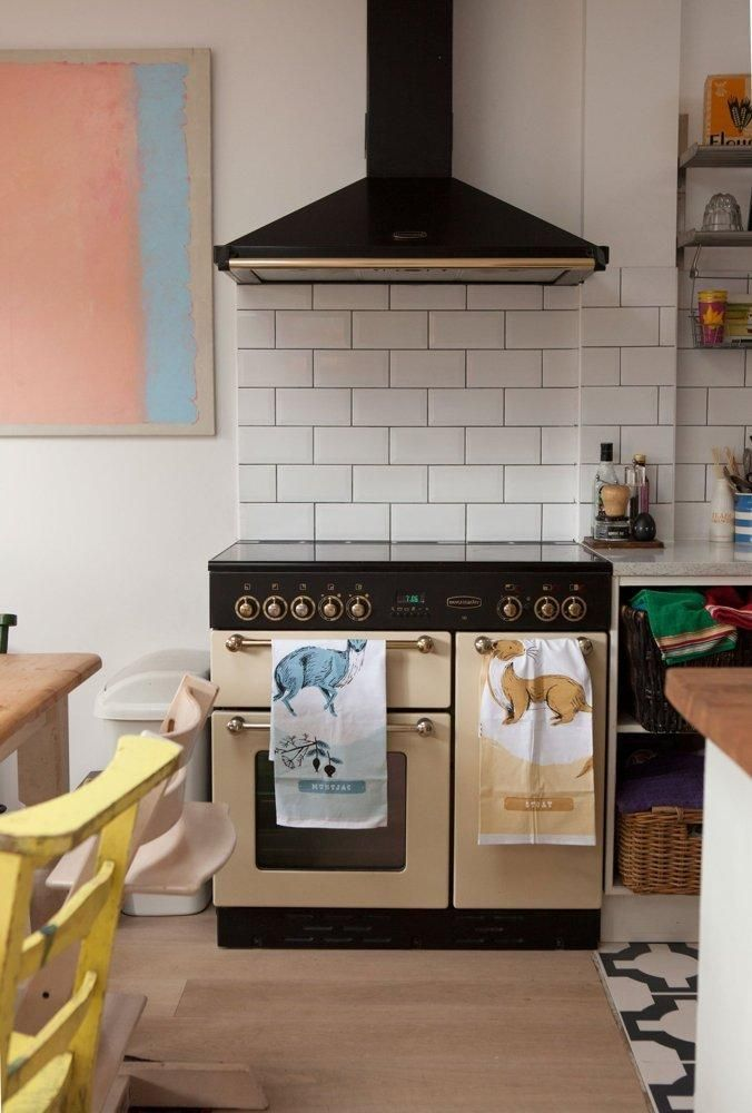Gigi S Candy Colored London Cottage Cooking Spaces