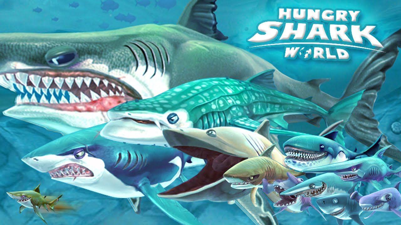 Hungry shark world v280 mod apk data apk24x7 shark