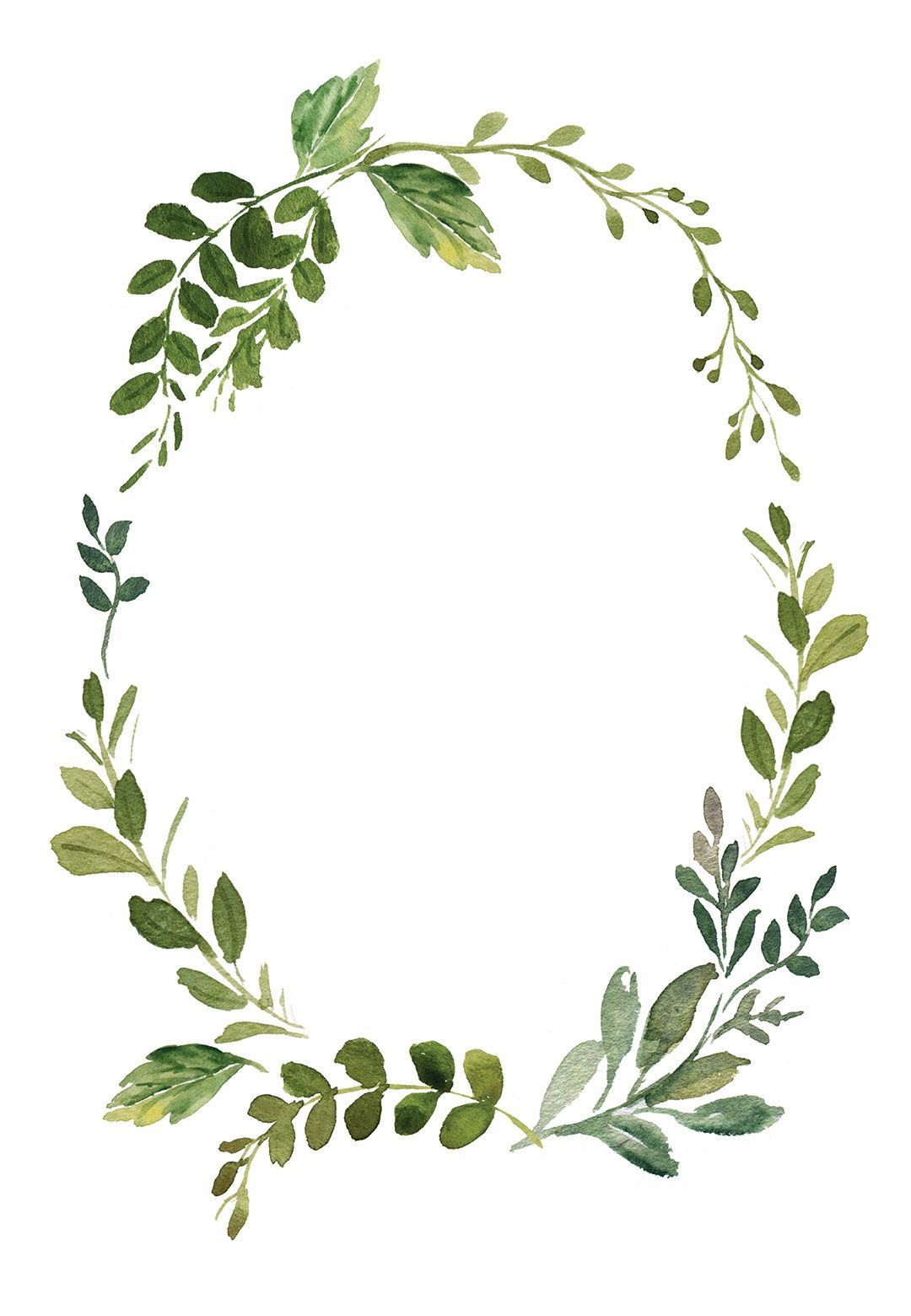 wreath template free # 8