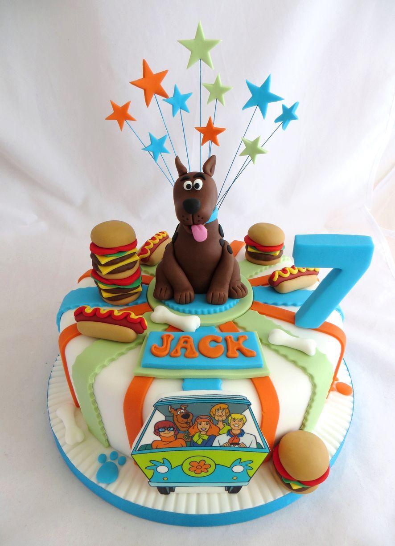 Scooby Doo Themed Cake By Caroline Shaw Huddersfield