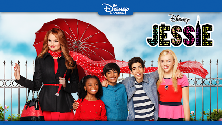 Jessie Throw Momma From The Terrace 😱 Disney Channel