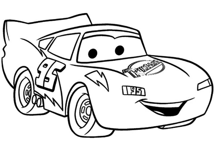 Lightning Mcqueen Jpg 720 480 Race Car Coloring Pages Coloring Pages For Boys Coloring Books
