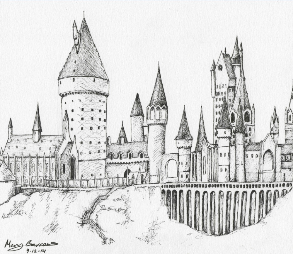 25 Hogwarts Coloring Pages Pictures | Harry potter ...