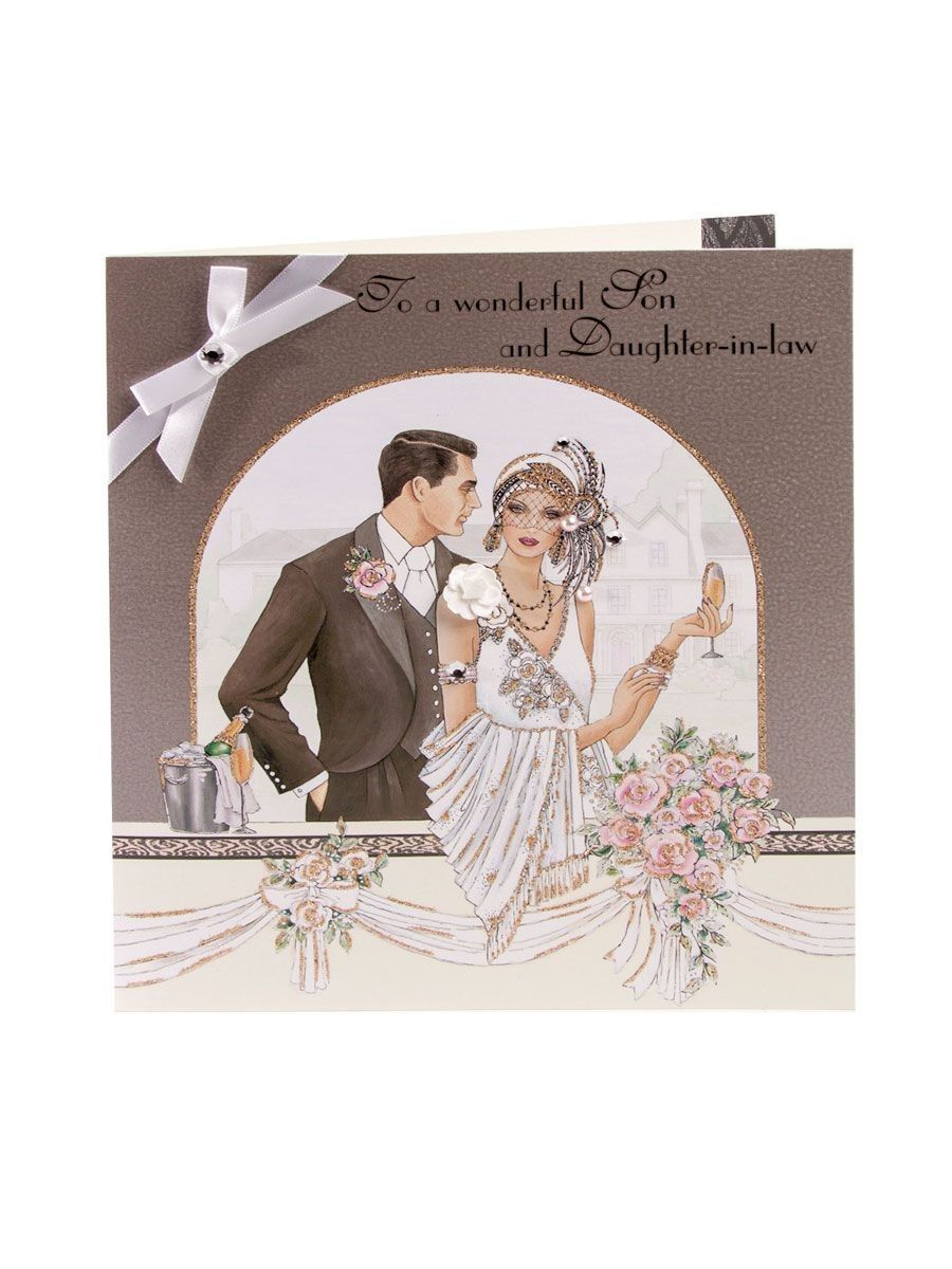 Clintons Art Deco Art Deco Cards Anniversary Cards Beautiful Greeting Cards