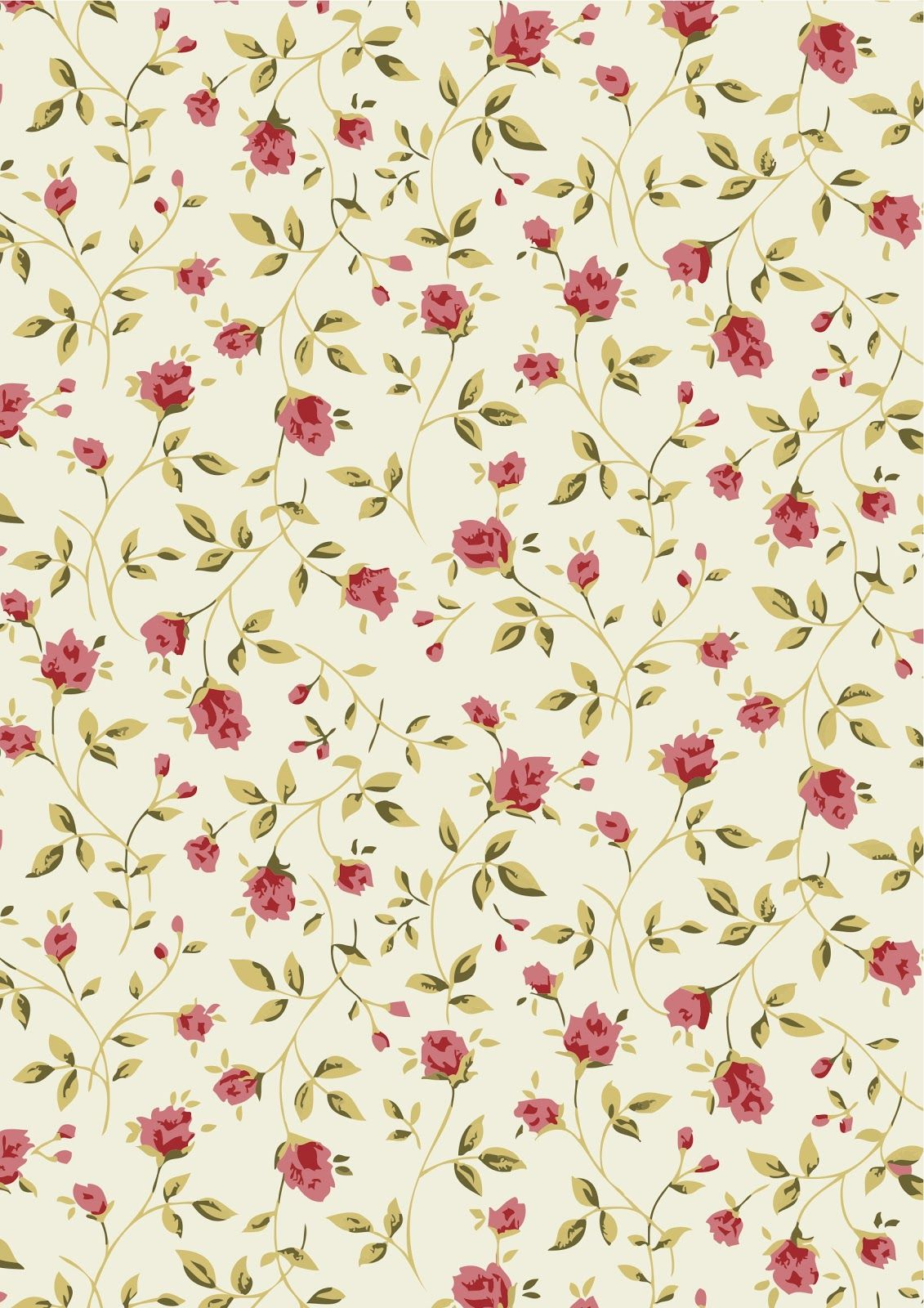 free vector small flower pattern background 05 scrap paper floral