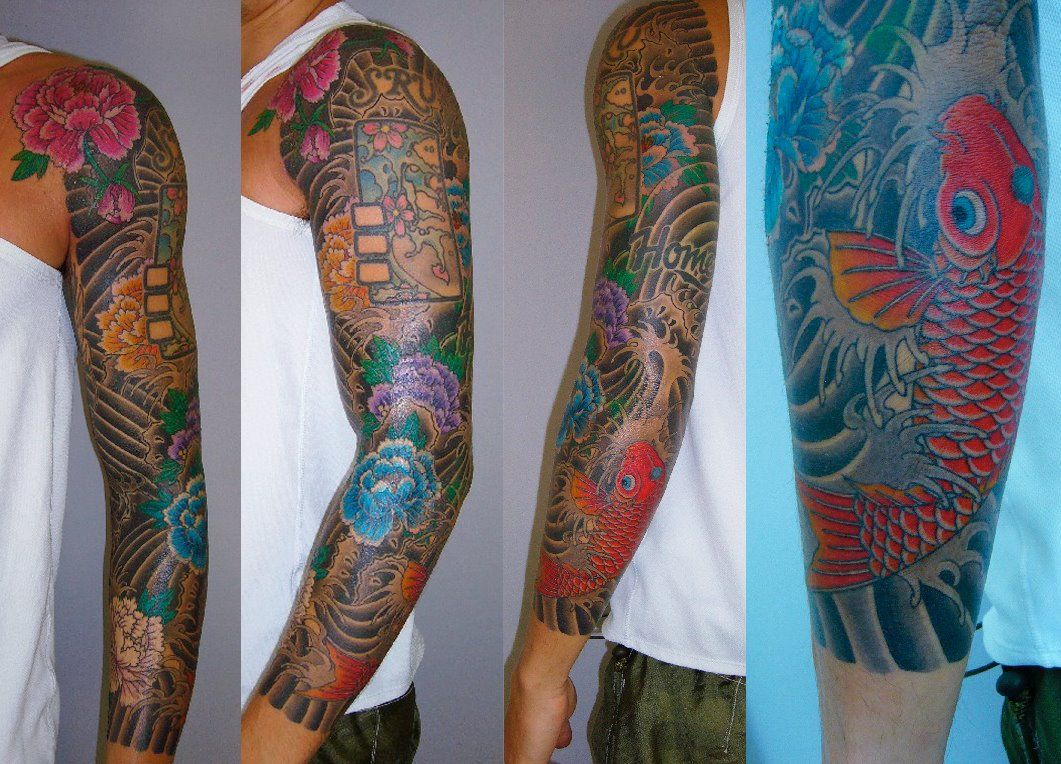 John5 Jpg Image Sleeve Tattoos Tattoos Japanese Sleeve Tattoos