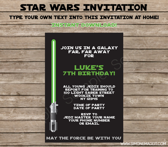 training invitation templates