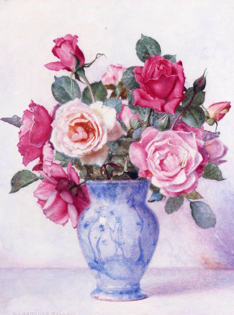 подчеркнул, картинка ваза с цветами художника цветными карандашами лучше