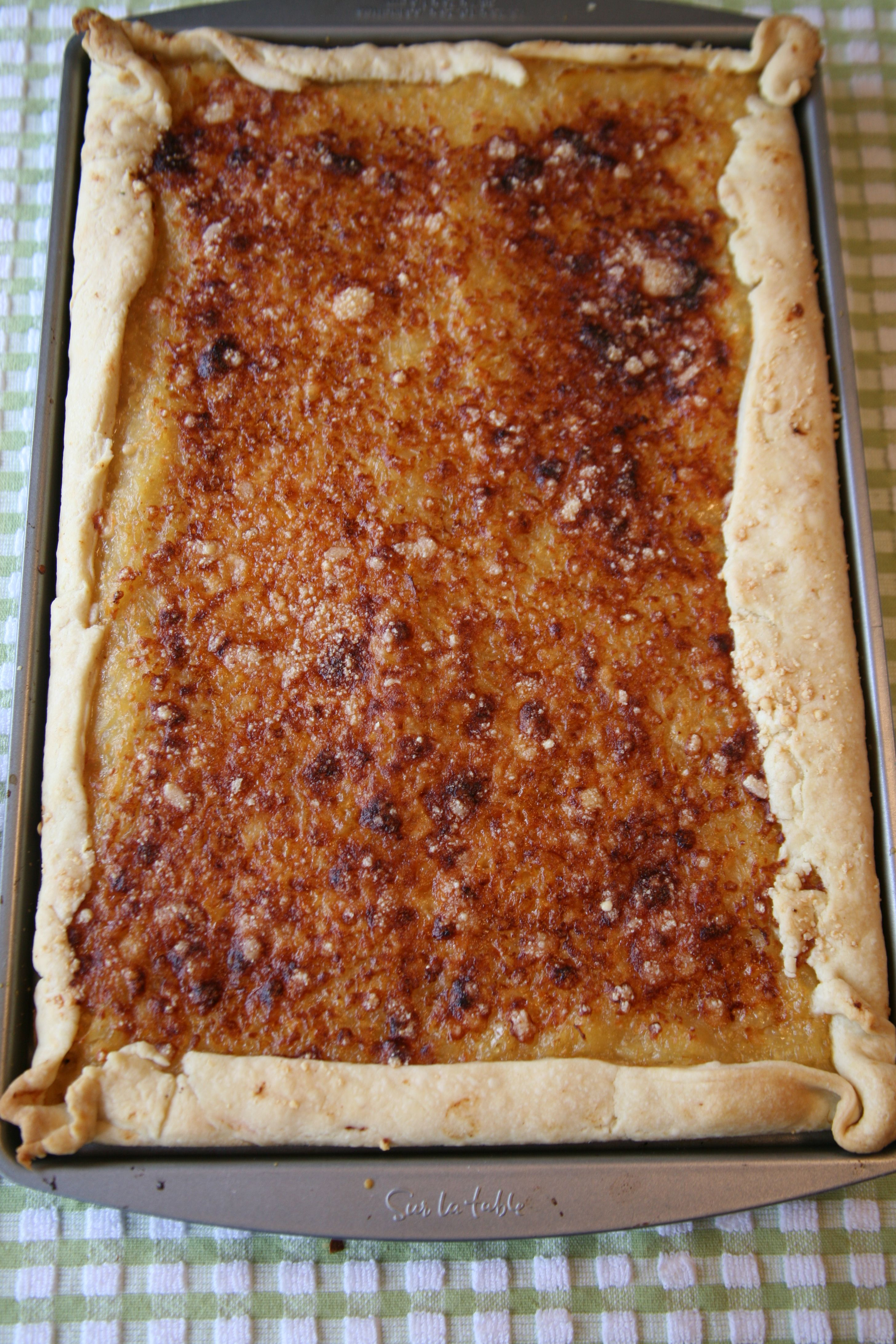 Just wanted to share this delicious recipe from Lidia Bastianich with you - Buon Gusto! ONION TART
