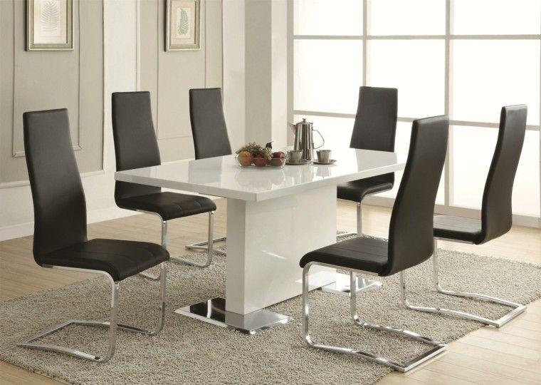 Hoy te presentamos las mejore ideas de mesas de comedor y sillas a ...