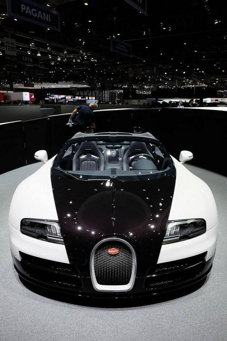 Bugatti Veyron ♥ Dmitry Dmitrov Google+ Bugatti cars