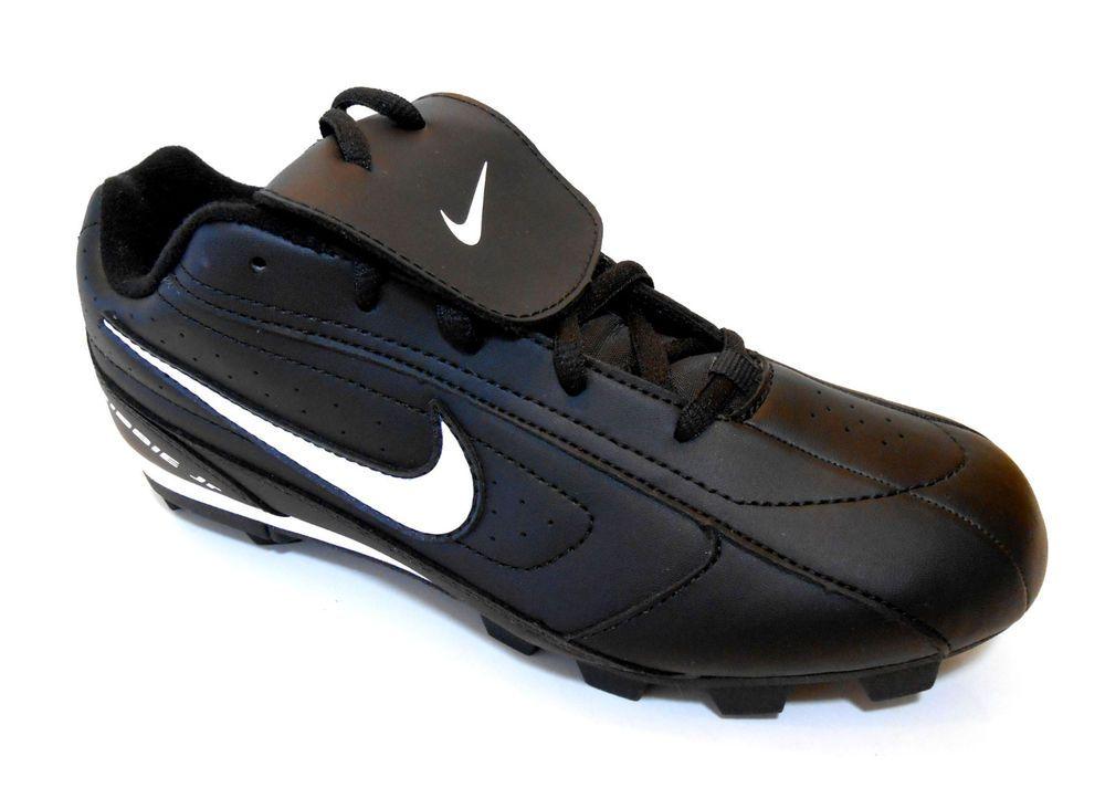 designer fashion e86de b01f2 Nike Baseball Cleats Ribbie JR USA Little Kids Size 13 M Black White Brand  New  NikeRibbieJr