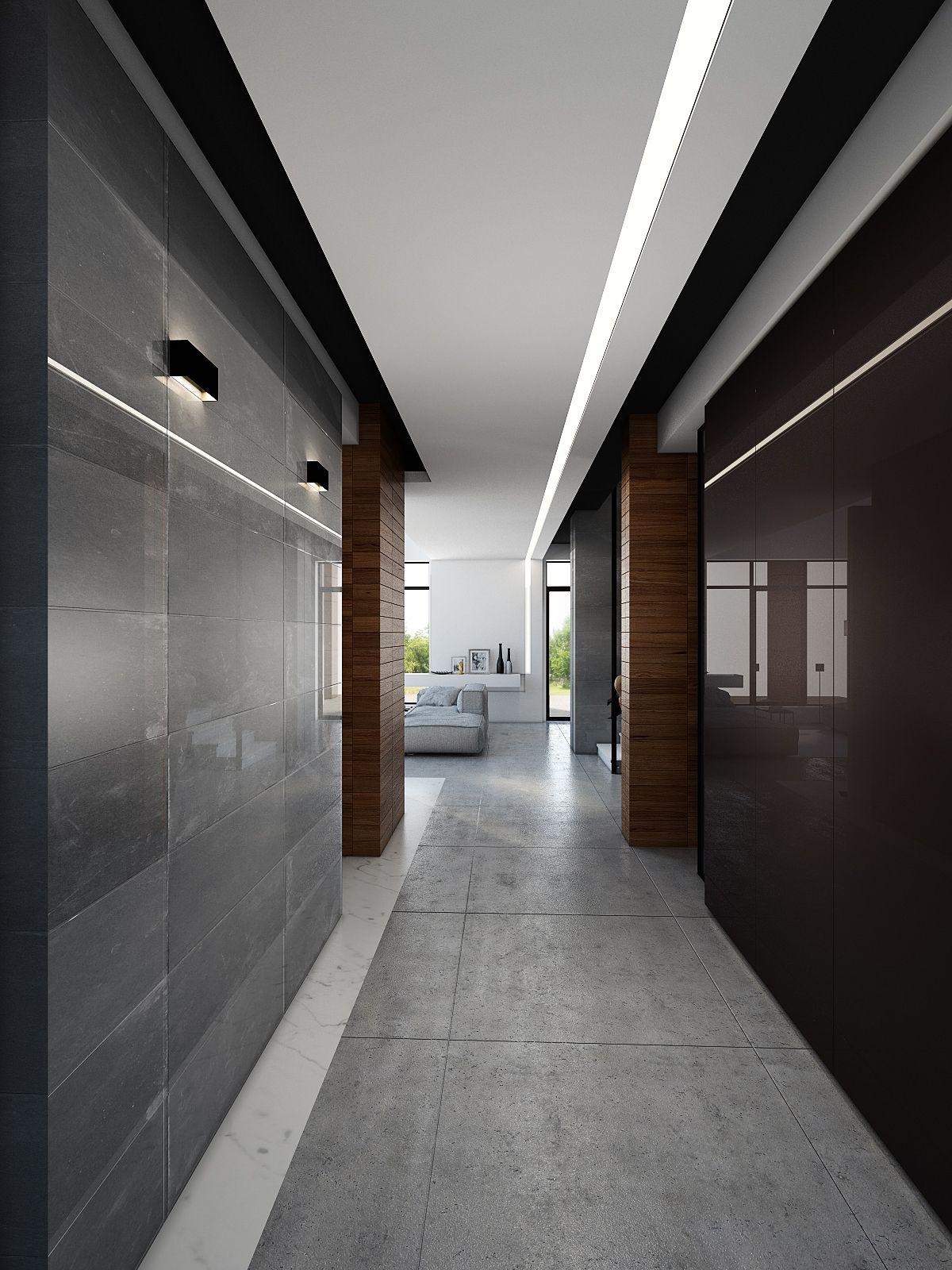 Home interior design gurgaon g  interiors  residential corridors  pinterest  lighting